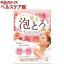 お湯物語 贅沢泡とろ 入浴料 ジュエリーローズの香り(30g)【お湯物語】[入浴剤]
