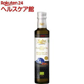 Sabo オーガニック フラックスオイル(亜麻仁油) スイート(230g)【spts4】【サボ】