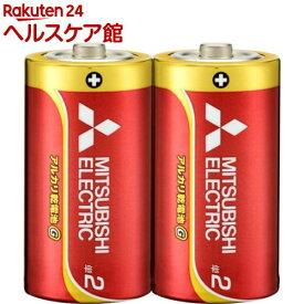 アルカリ乾電池 単2 LR14GD/2S(2コ入)