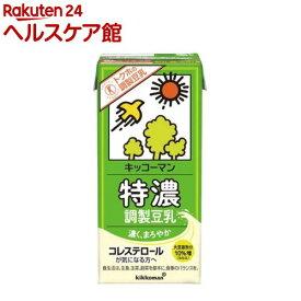 キッコーマン 特濃調製豆乳(1L*6本入)【キッコーマン】
