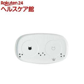 猫壱 ハッピーダイニング専用 食器トレー ダブル(1コ入)【猫壱】