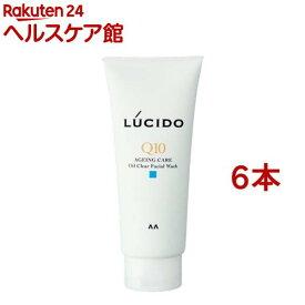 ルシード オイルクリア洗顔フォーム(130g*6本セット)【ルシード(LUCIDO)】