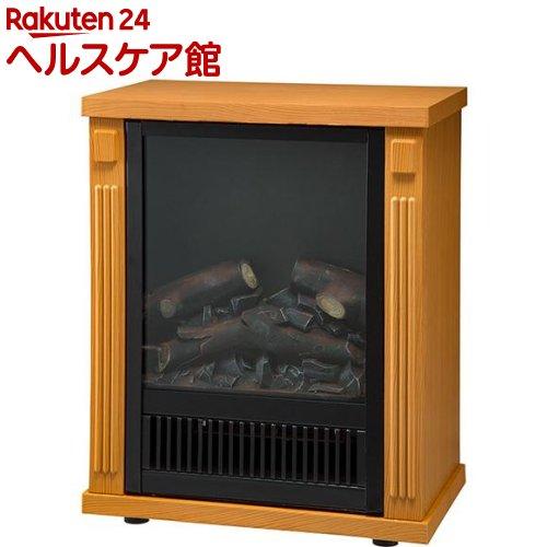 ノスタルジア ミニ暖炉ヒーター 木目調 ナチュラルウッド(1台)【送料無料】