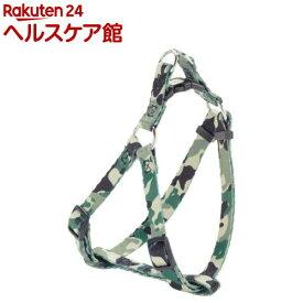 ペティオ アルファッション 迷彩ハーネス XS グリーン(1コ入)【アルファッション(ARFashion)】