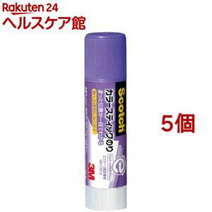 スコッチ カラースティックのり GP-A(8g*5コセット)