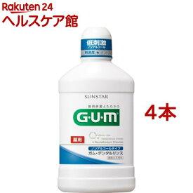 GUMデンタルリンス ノンアルコール(500ml*4本セット)【ガム(G・U・M)】[マウスウォッシュ]