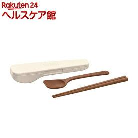 サーモス スプーン・ハシセット ピュアホワイト CPE-001 PWH(1セット)【サーモス(THERMOS)】