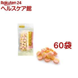 ペットネイチャー ふっくらさつまいも イチゴ(100g*60袋セット)【ペットネイチャー】