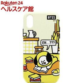 iPhone XR デュアルガード ルーミーズ CHIMMY KCB-DRR002(1個)【BT21】