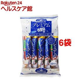 プレミアムうまい棒 モッツァレラ&カマンベール味(10本入*6コ)