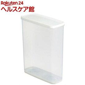 乾物ストッカー6.0 ホワイト(1コ入)【more20】【イノマタ化学】