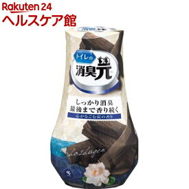 トイレの消臭元 心がなごむ炭の香り 芳香消臭剤 トイレ用(400ml)【消臭元】