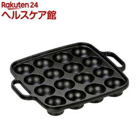 IH対応 鉄鋳物たこ焼き器 16穴 3966(1コ入)