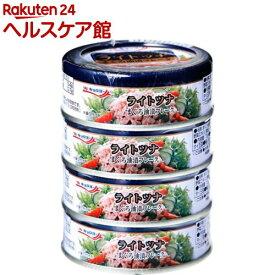 ライトツナ まぐろ油漬フレーク(70g*4缶)