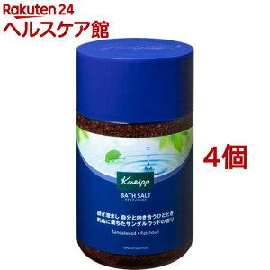 クナイプ バスソルト サンダルウッドの香り(850g*4個セット)【クナイプ(KNEIPP)】