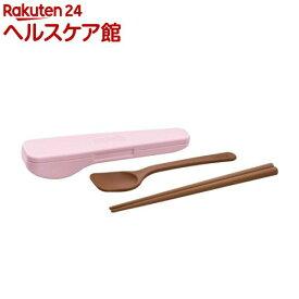 サーモス スプーン・ハシセット ライトピンク CPE-001 LP(1セット)【サーモス(THERMOS)】