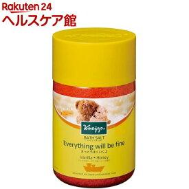クナイプ バスソルト バニラ&ハニーの香り ボトル(850g)【クナイプ(KNEIPP)】[入浴剤]