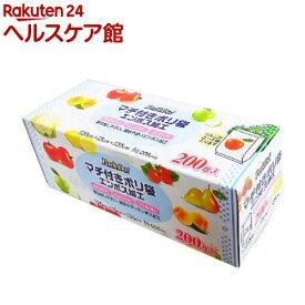 日本技研工業 Pack Do マチ付きポリ袋 エンボス加工 PD-F200(200枚入)【more30】