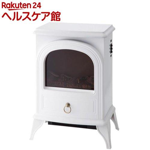 暖炉型ヒーター ノスタルジア ホワイト アンティーク調(1台)【送料無料】