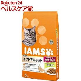 アイムス 成猫用 インドアキャット チキン(5kg)【dalc_iams】【m3ad】【アイムス】[キャットフード]
