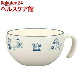 アクティブあにまる スープカップ ブルー(1コ入)