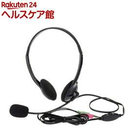 Digio2 ヘッドセット ブラック MHM-S24BK(1セット)【Digio2】