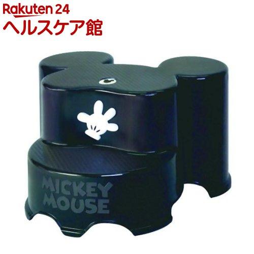 ミッキーマウス キャラ・ステップ 2段 BK(1台)【錦化成】