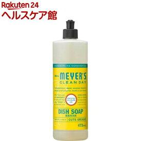 ミセスマイヤーズ クリーンデイ 食器用洗剤 ハニーサックル(473ml)【ミセスマイヤーズ】