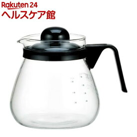 イワキ(iwaki) レンジのポット・コーヒー1000 KT7966-BK2(1コ入)【イワキ(iwaki)】