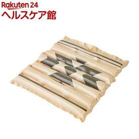 エアクッション ザブポン スタイル ネイティブ柄 ケース販売 ベージュ(40枚)【ザブポン】