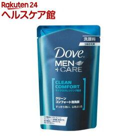 ダヴ メンプラスケア クリーンコンフォート泡洗顔 つめかえ用(110mL)【ダヴ(Dove)】
