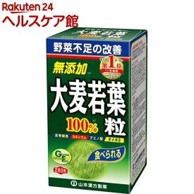 山本漢方 青汁 大麦若葉粒 100%(280粒)【山本漢方 青汁】