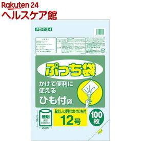 オルディ ぷっち袋 ひも付 透明 12号 幅230*高340*厚0.02mm(100枚入)