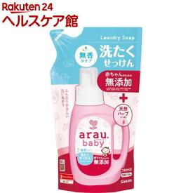 アラウベビー 洗たくせっけん 無香タイプ つめかえ用(720ml)【アラウベビー】