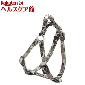 ペティオ アルファッション 迷彩ハーネス S グレー(1コ入)【アルファッション(ARFashion)】