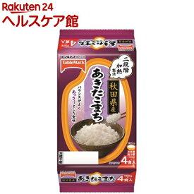 秋田県産あきたこまち 分割(150g*4食入)【たきたてご飯】