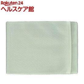 サラッとひんやり快眠アイス枕カバー グリーン(1個)