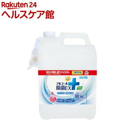 らくハピ アルコール除菌EX つめかえ 大容量(5L)【らくハピ】