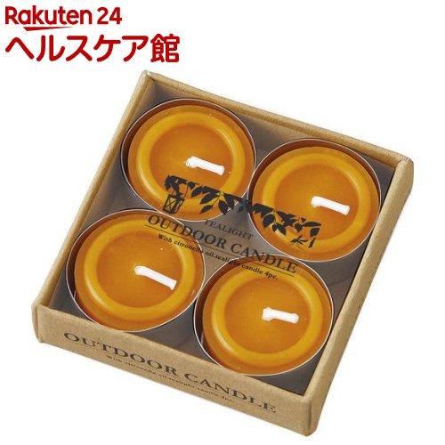 カメヤマ シトロネラティーライト(4コ入)【カメヤマキャンドル】