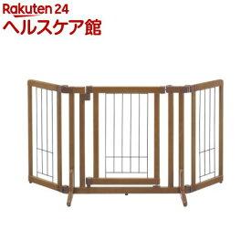 リッチェル ペット用木製おくだけドア付きゲート Sサイズ(1台)