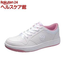 アサヒ ウィンブルドン 037 ホワイト/ピンク 21.0cm(1足)【ウィンブルドン(WIMBLEDON)】