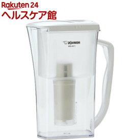 象印 炊飯浄水ポット ホワイト MQ-JA11-WB(1コ入)【象印(ZOJIRUSHI)】