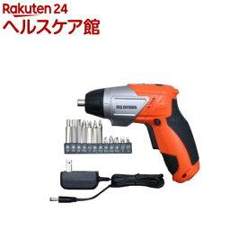 アイリスオーヤマ 充電式電動ドライバー オレンジ JCD-421-D(1台)【アイリスオーヤマ】