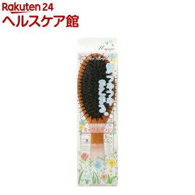 マペペ つやつや天然毛のミックスブラシ(1本入)【マペペ】
