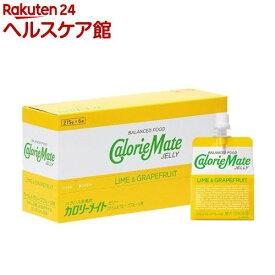 カロリーメイト ゼリー ライム&グレープフルーツ味(215g*6袋入)【spts3】【slide_d6】【カロリーメイト】