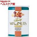 東洋ナッツ食品 食塩無添加 クラッシー ミックスナッツ缶(360g)【slide_2】【トン(ナッツ)】