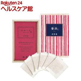 かゆらぎ 薔薇(ばら) 名刺香 桐箱(6枚入)【かゆらぎ】