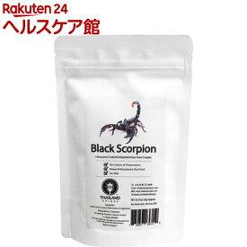 昆虫食 チャグロサソリ Black Scorpion TIU0020(6g)【JRユニークフーズ (JR UNIQUE FOODS)】