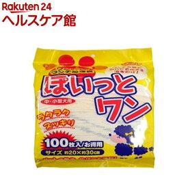 JELうんち処理袋 ぽいっとワン(100枚入)【more20】
