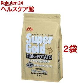 スーパーゴールド フィッシュ&ポテト 子犬・成犬用(2.4kg*2コセット)【スーパーゴールド】[ドッグフード]